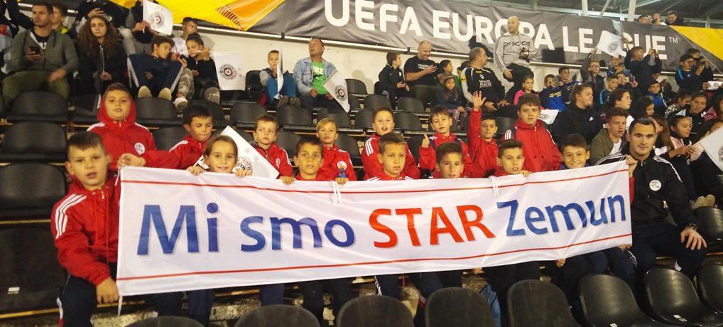 """Crveni se """"Hram"""" – Starovci na meču Evropa Lige"""